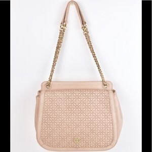 Tory Burch Bryant Quilted Light Pink Bag
